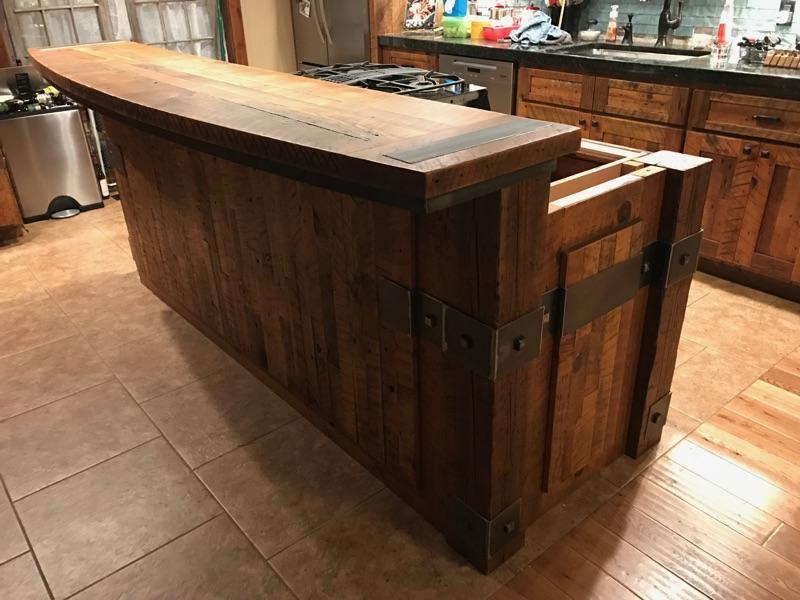 Barnwood Cabinets & Countertop