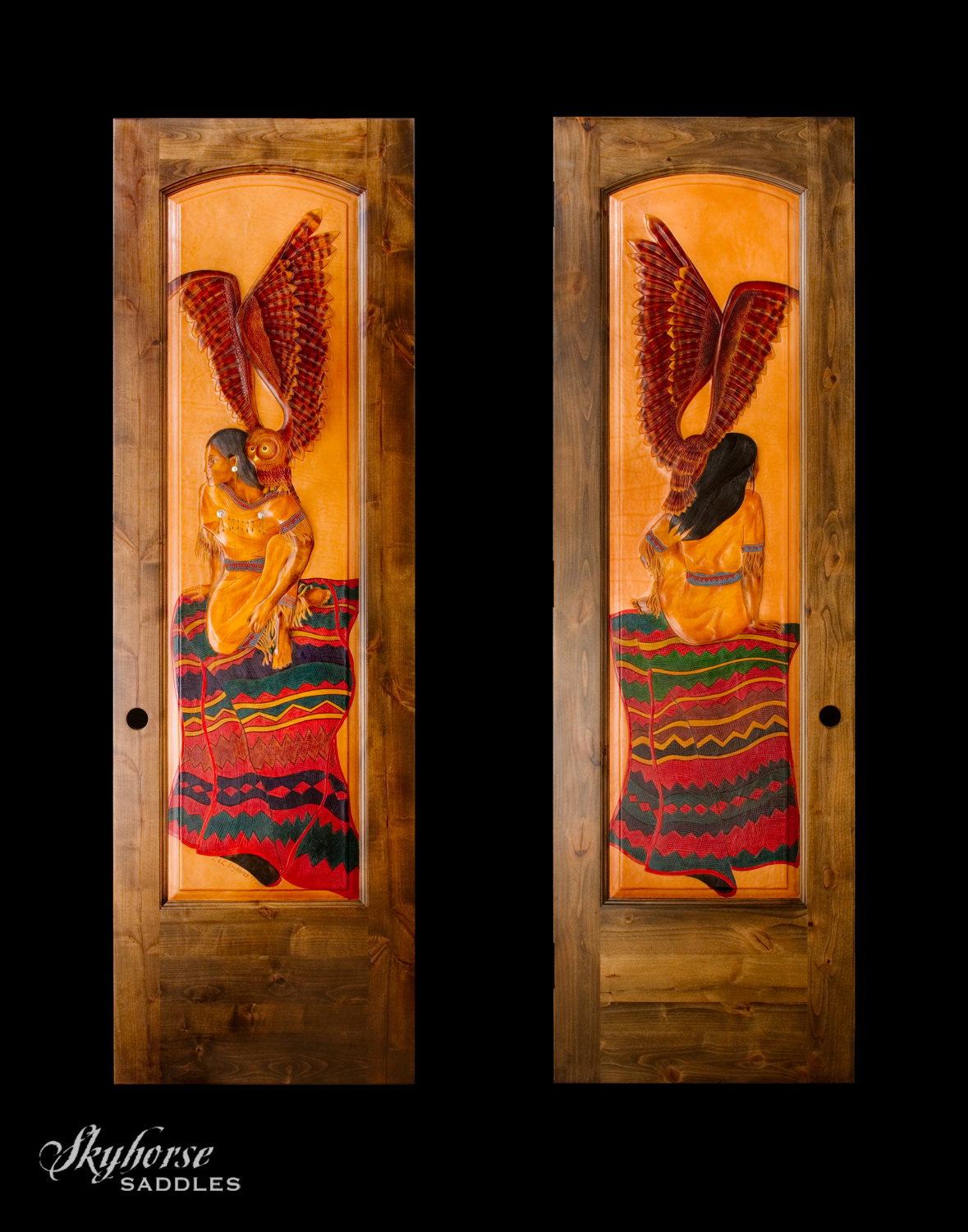 Owl Maiden Door  Click on a thumbnail for a slideshow