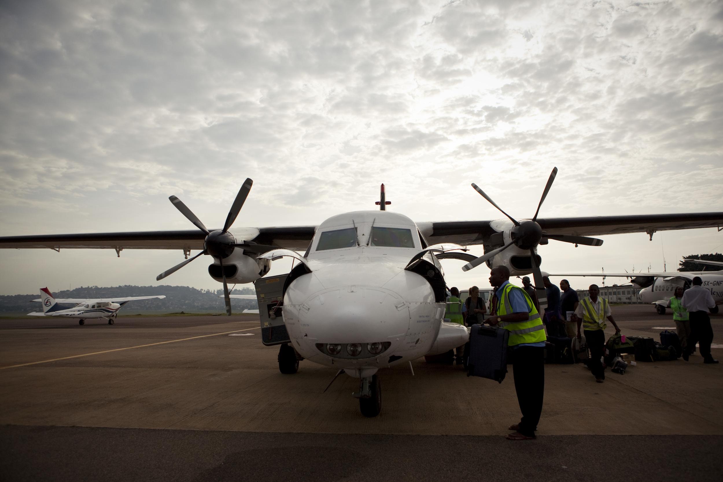 Leaving for Sudan