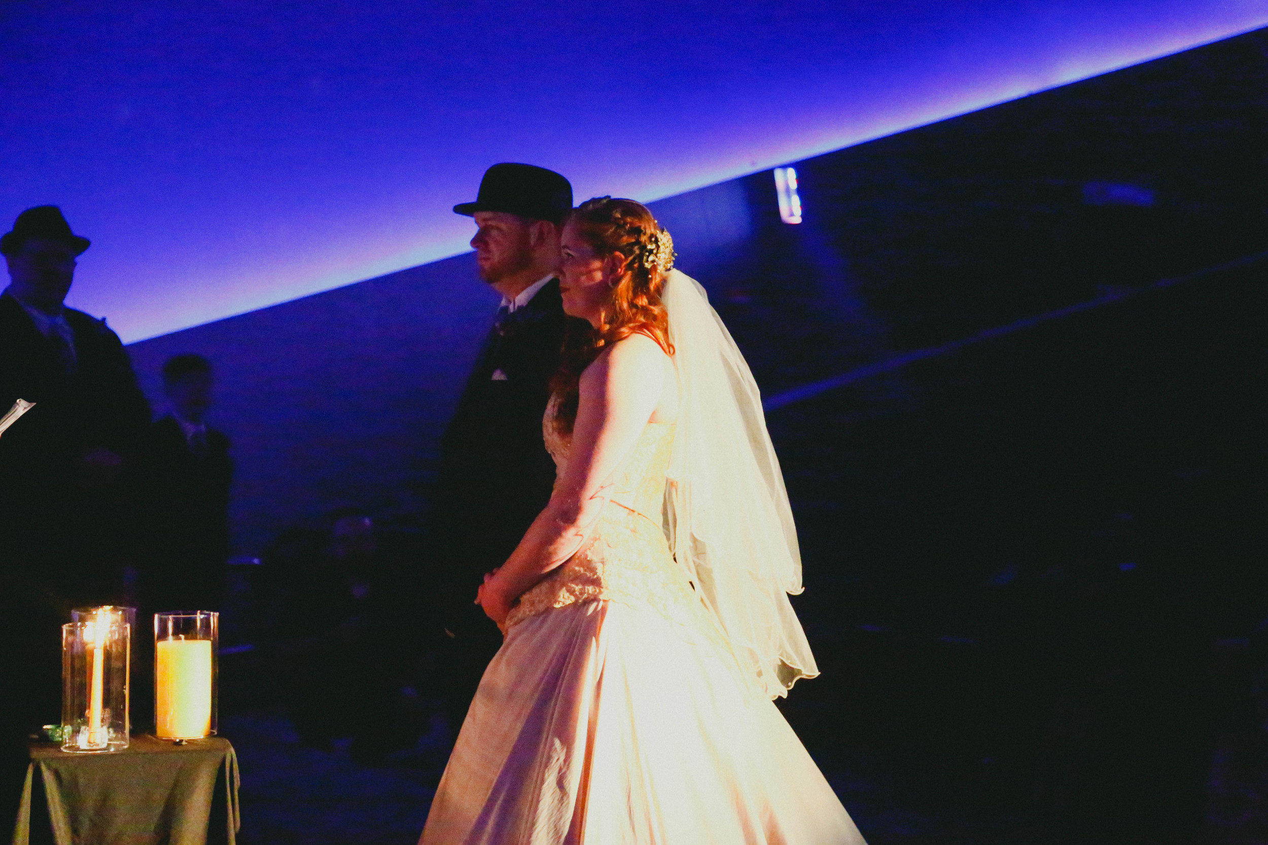Crystal + Kevin // Married : Venue: Chabot Space and Science Center