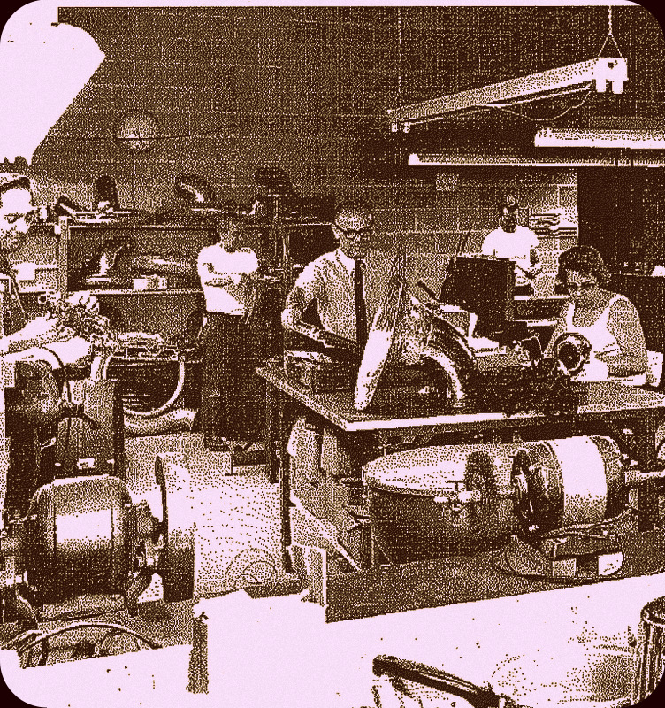 The Zeswitz Repair Shop, circa 1969