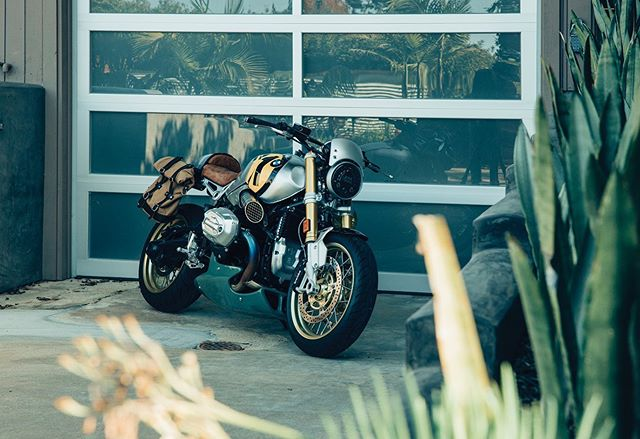 @tomdelonge's rocket ship 🚀  Read the story about our favorite rockstar, entrepreneur and motorcycle lover in Volume 014, and watch the film at readmeta.com.  Photos by @jeffstockwell  #readmeta #ALifeWellRidden