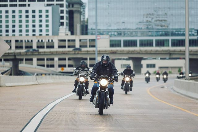 Due to an unfortunate circumstance at the Canadian border, the @royalenfield fleet of bikes will not arrive in Denver for the planned open house this Saturday.  In lieu of the event being canceled we will host a community ride departing from @metadenver.  Meet at 9am and kickstands up by 10am.  Route to be determined.  Hope to see you there!  Photo by @eparrillaphotos  #readmeta #ALifeWellRidden