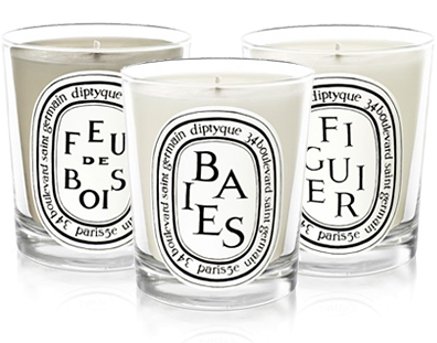 We can't live without our diptyque candles.