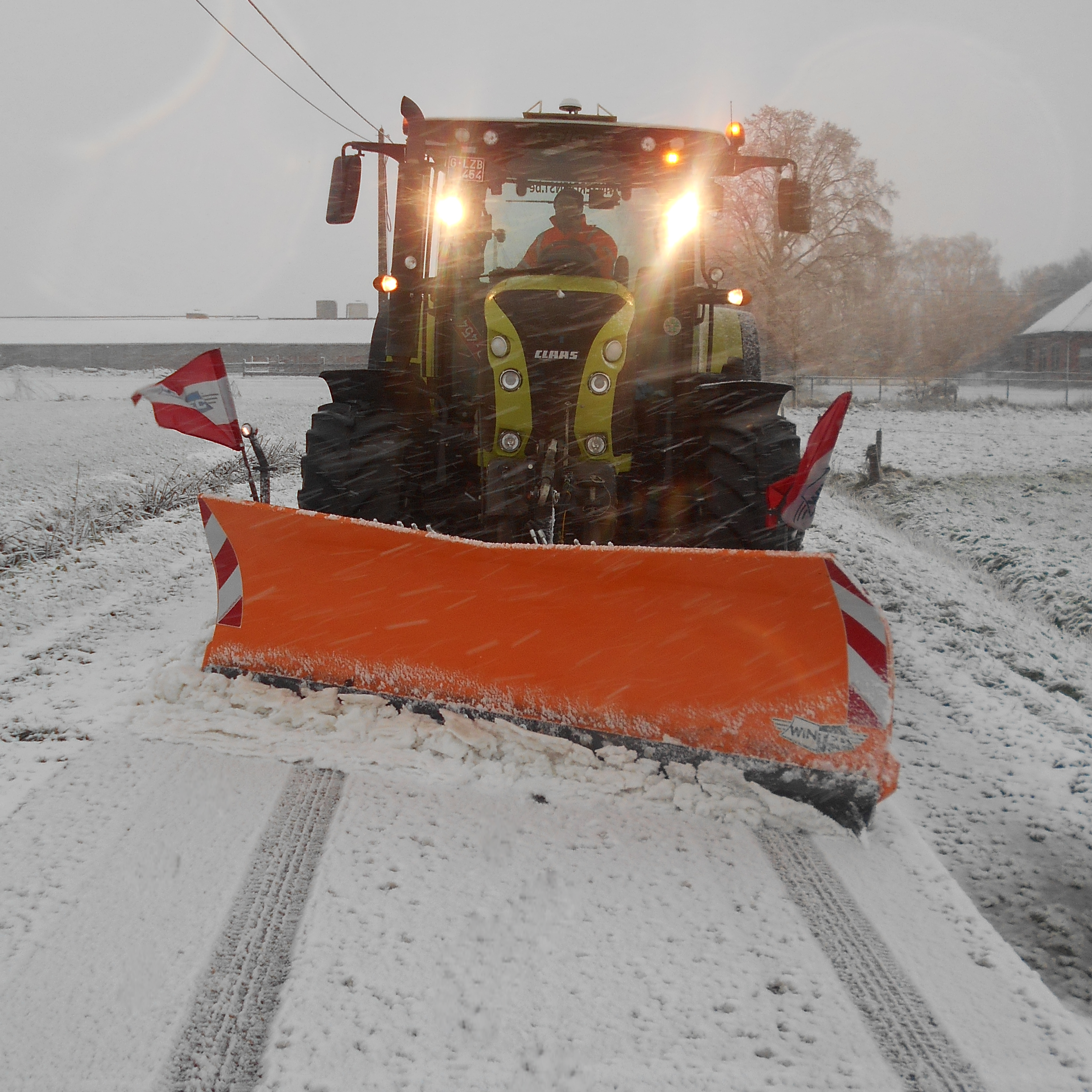 MG sneeuwploeg
