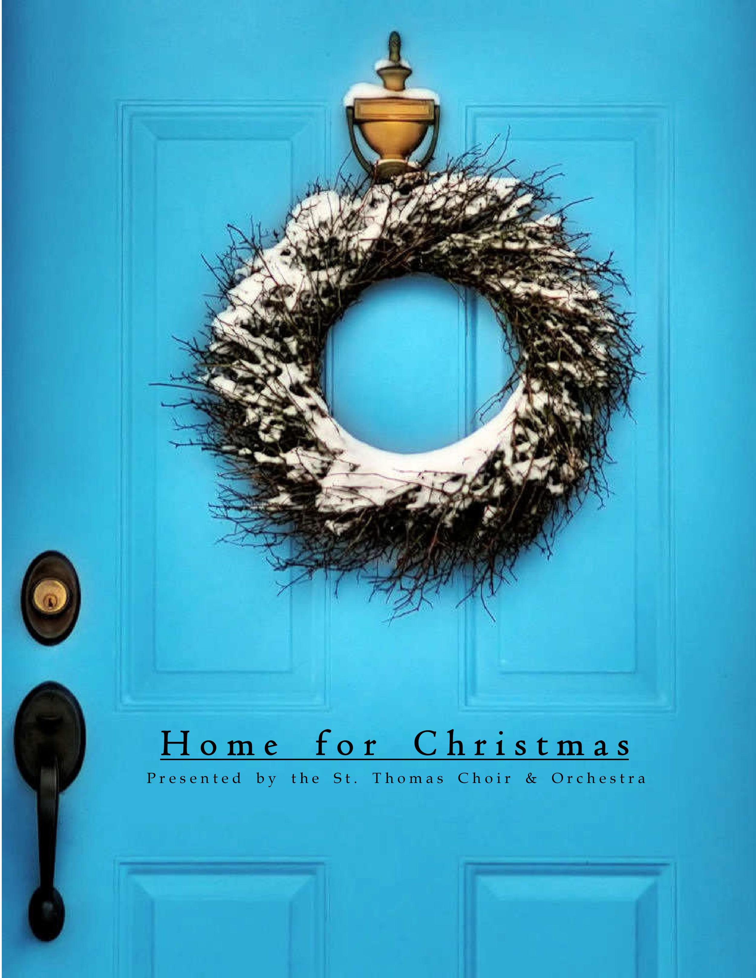 "The Poster & Artwork for ""Home for Christmas"""