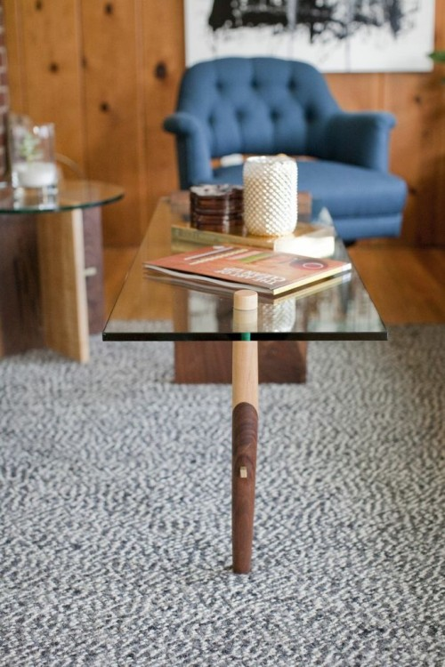 TEA TABLE  ON DISPLAY IN OUR FRONT ROOM.
