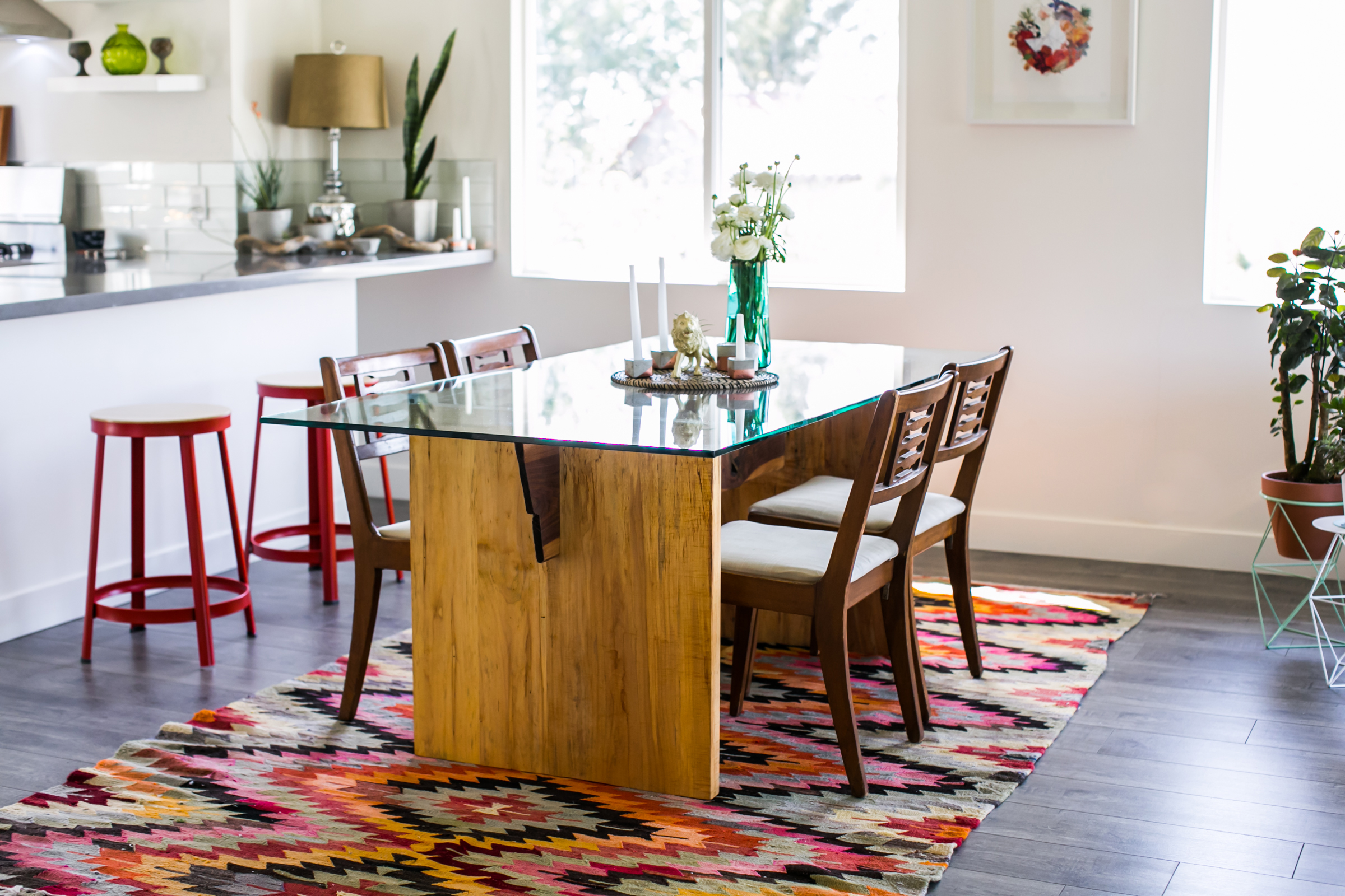 LUXE DINING TABLE BY CHRIS EARL