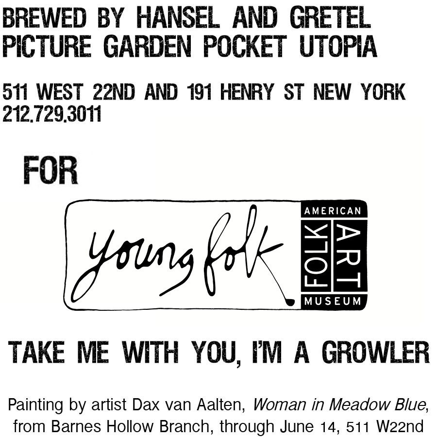 Custom beer label back: layout design