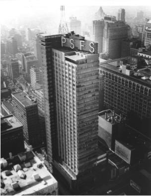Philadelphia savings fund society building.