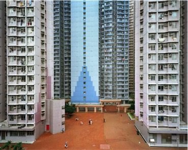 urban renewal #6, apartment complex, jiangiunAo Hong kong, 2004.