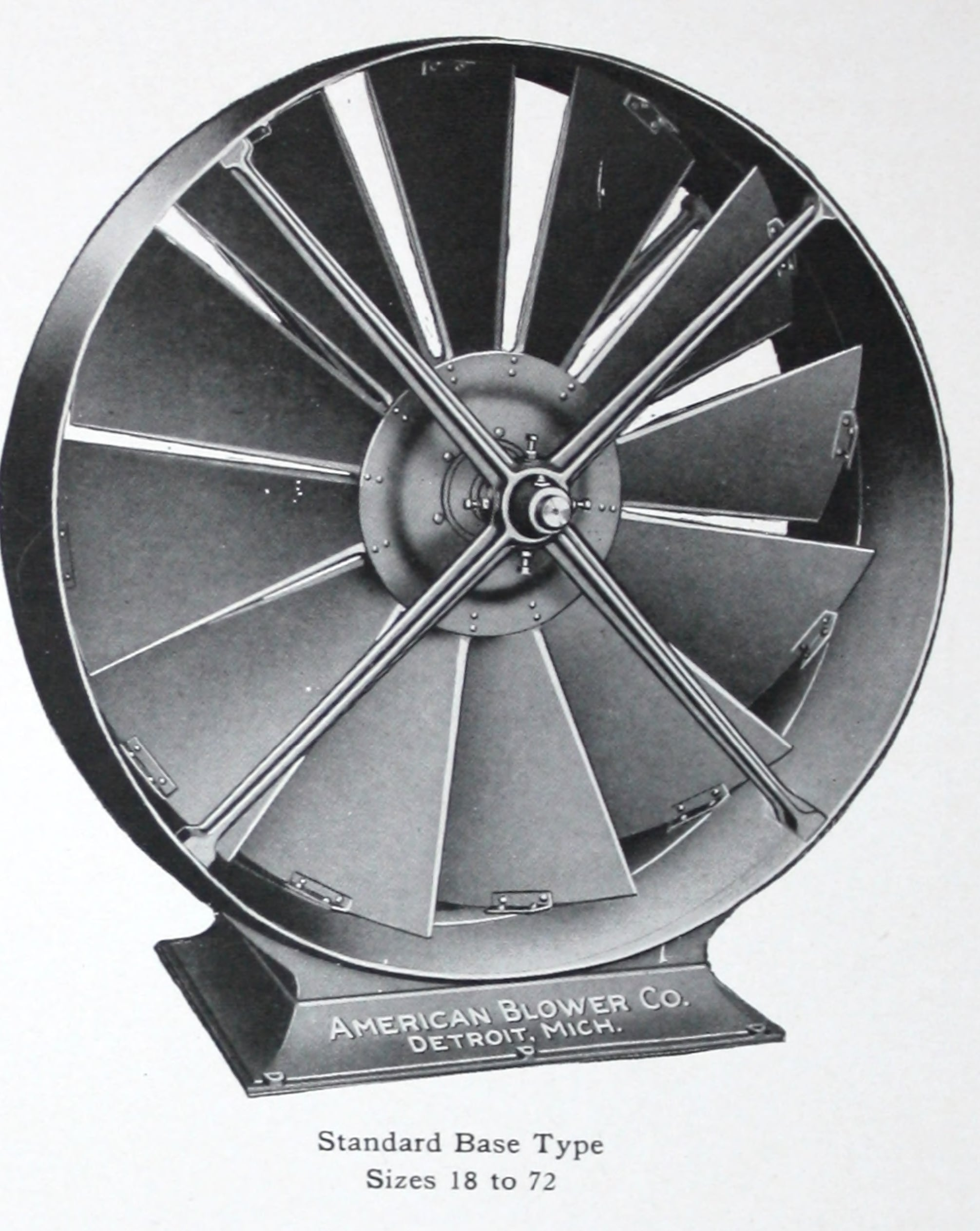 """ABC"" type ""D"" disc ventilating fans."