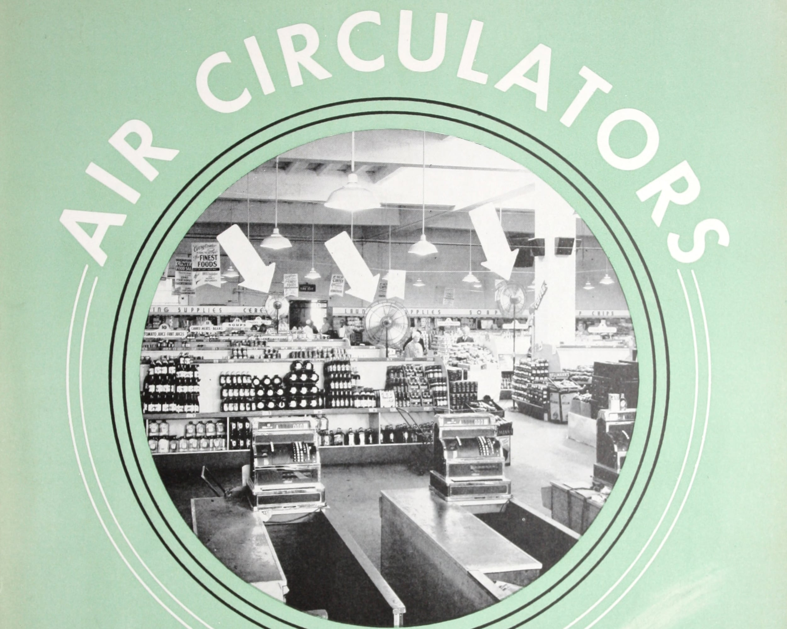Air circulators. Emerson Electric Manufacturing Co.