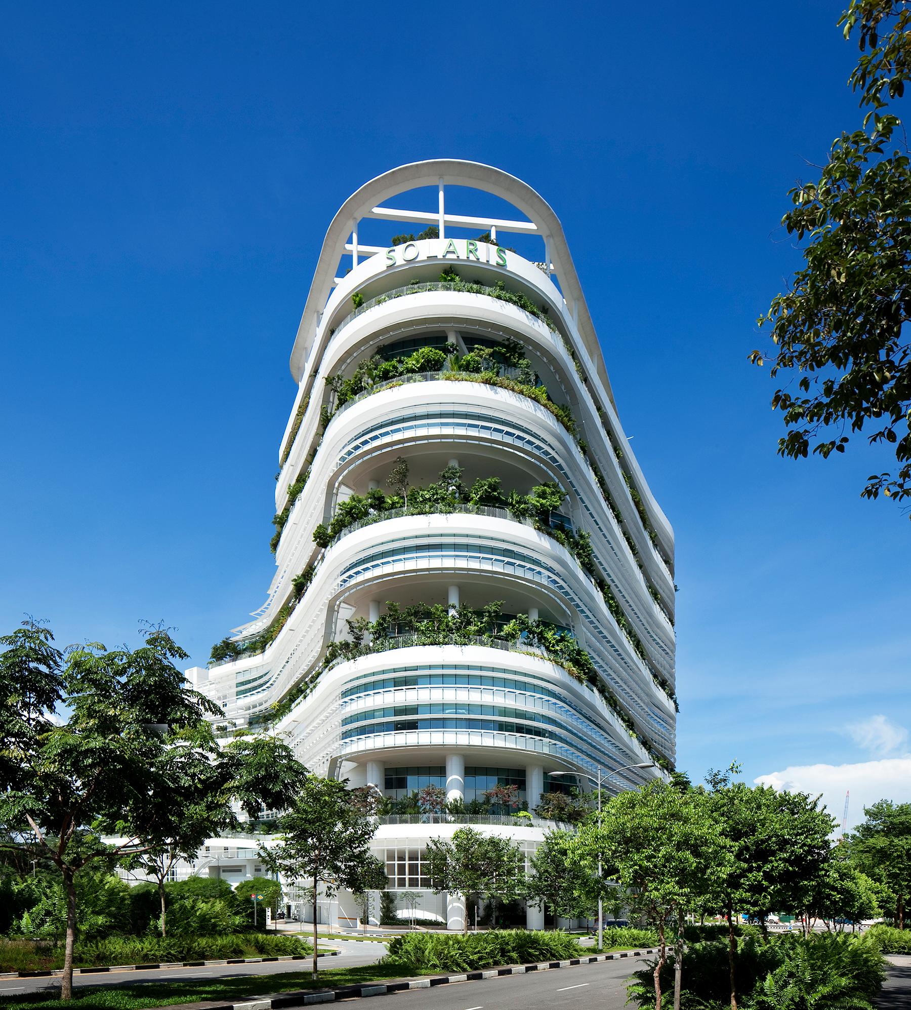 Solaris Singapore - Certified BCA Green mark Platinum Level