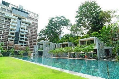 WOHA developed 'goodwood residence'.