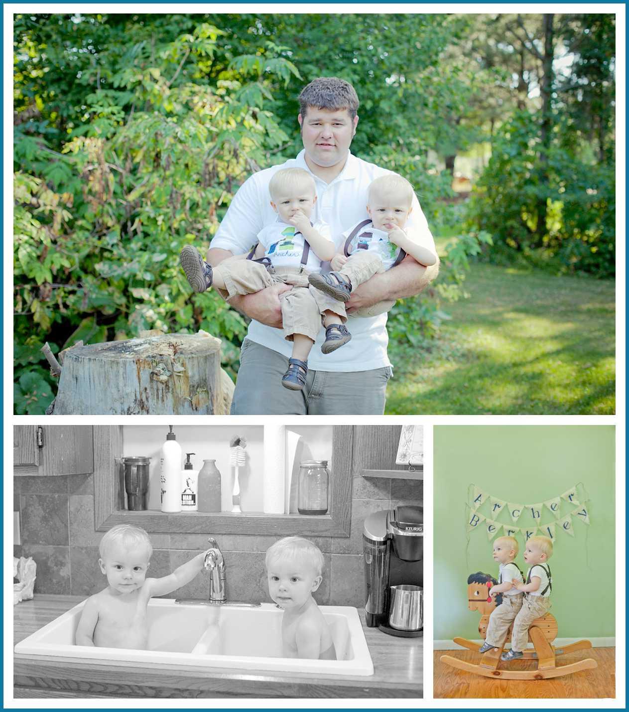 Minnesota Childrens Photographer  South Dakota Childrens Photographer  Outoor First Birthday Cake Smash