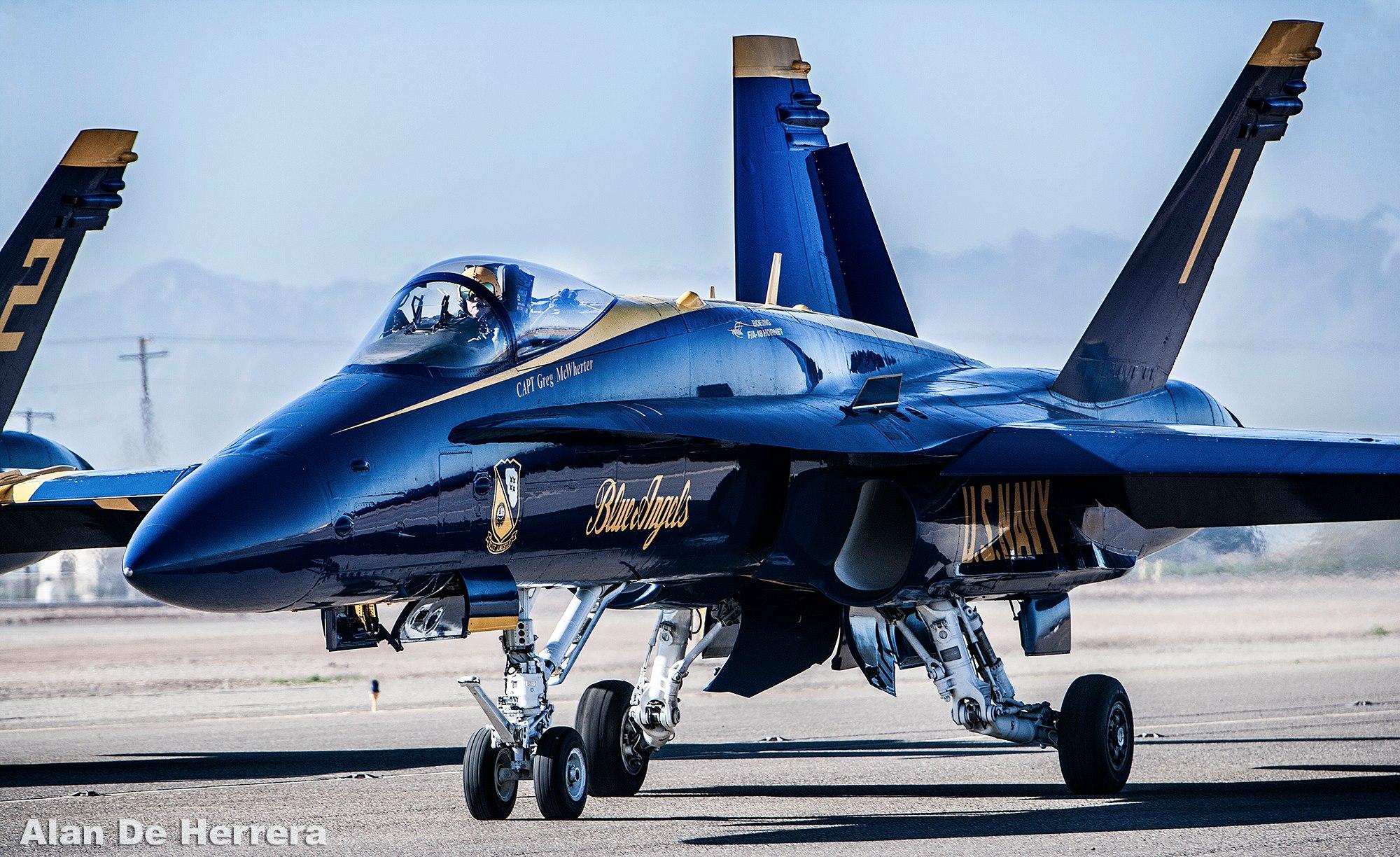 US Navy Blue Angels - El Centro