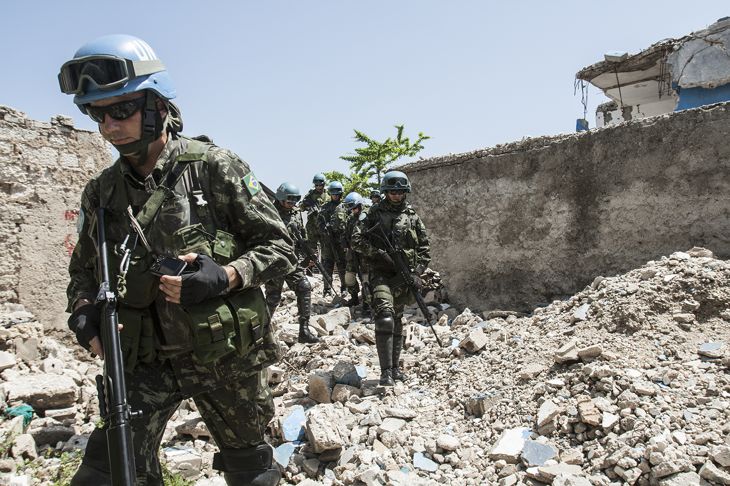 United Nations - Brazilian Battalion - Haiti