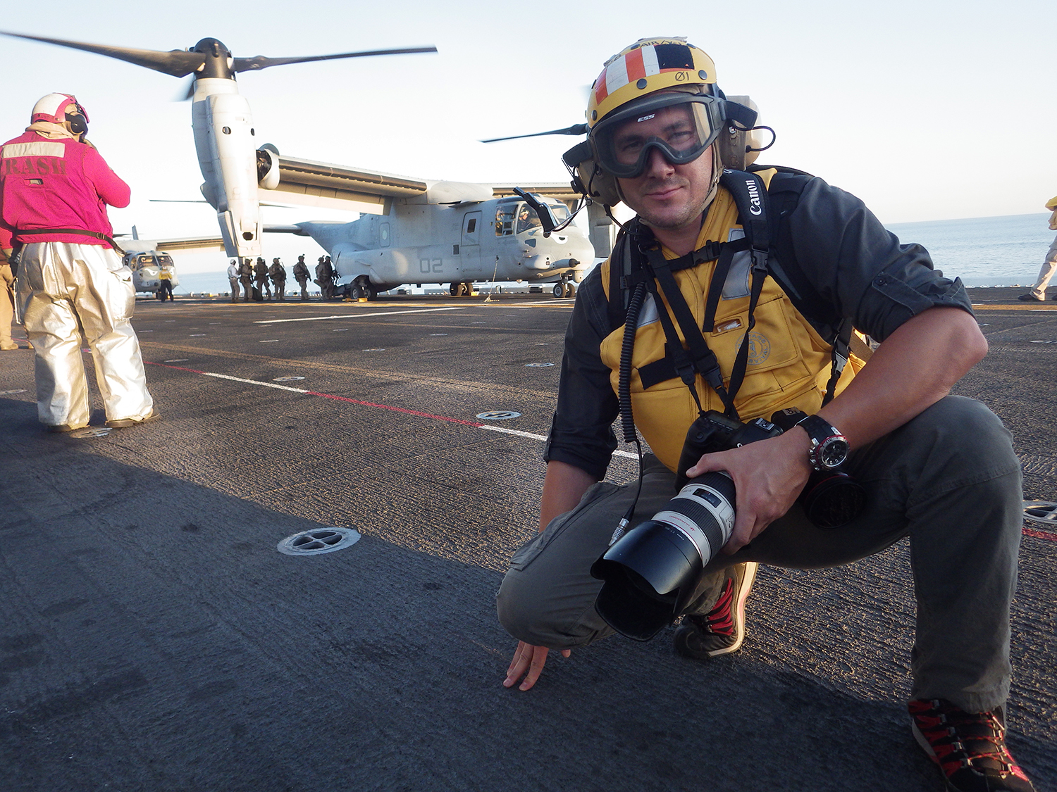 USS Makin Island for  Smithsonian Air and Space Magazine.