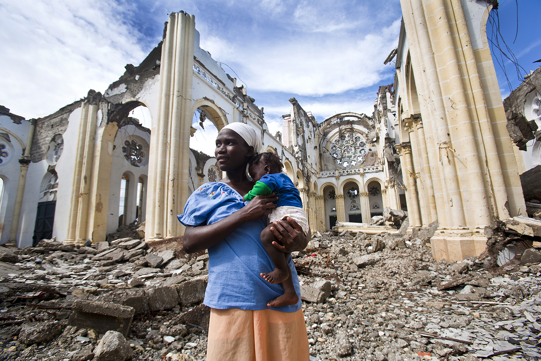 Mother and Child Port au Prince, Haiti