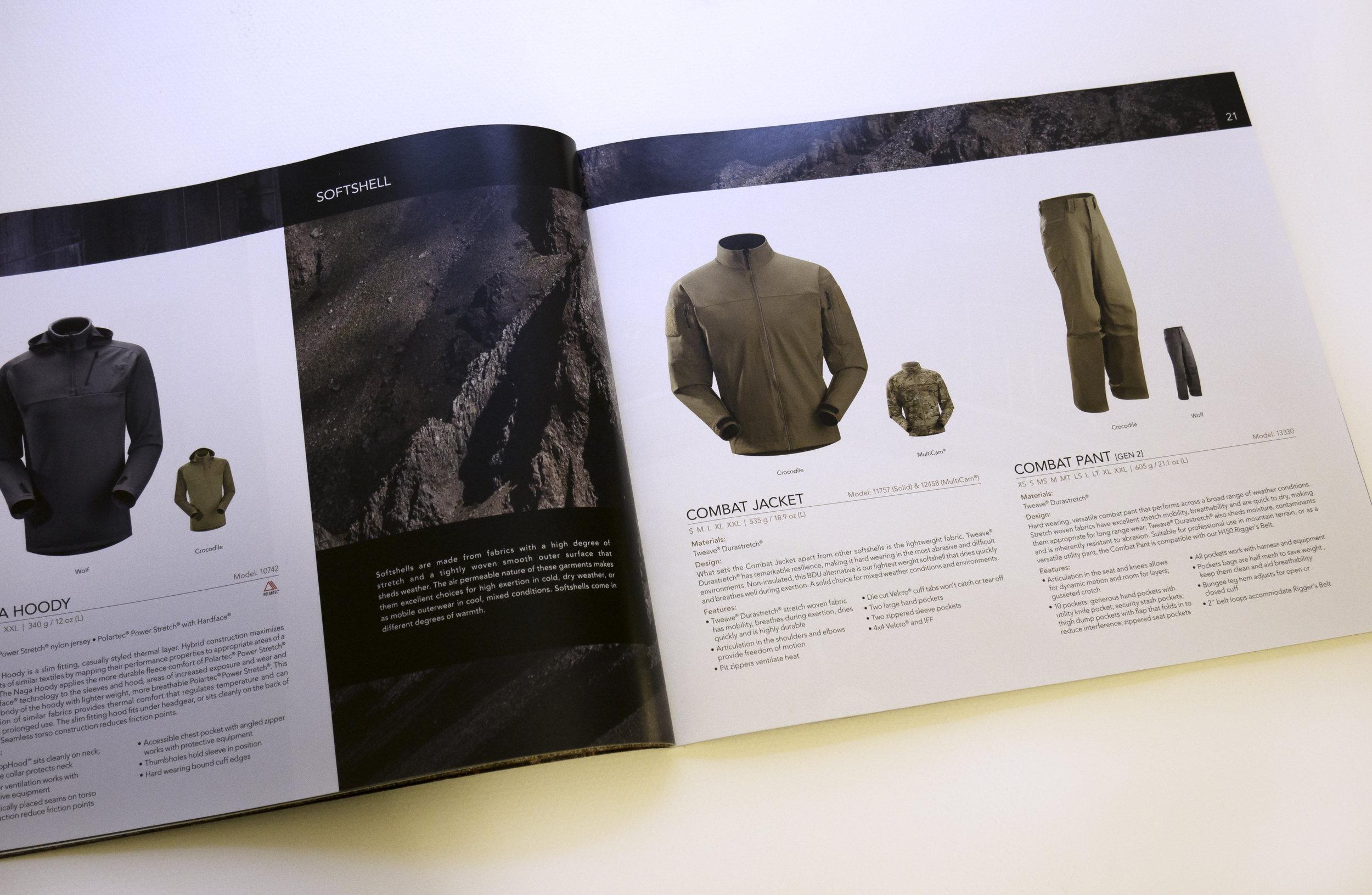 Arcteryx LEAF Product Catalogue