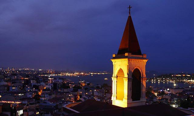 Istanbul at dusk.