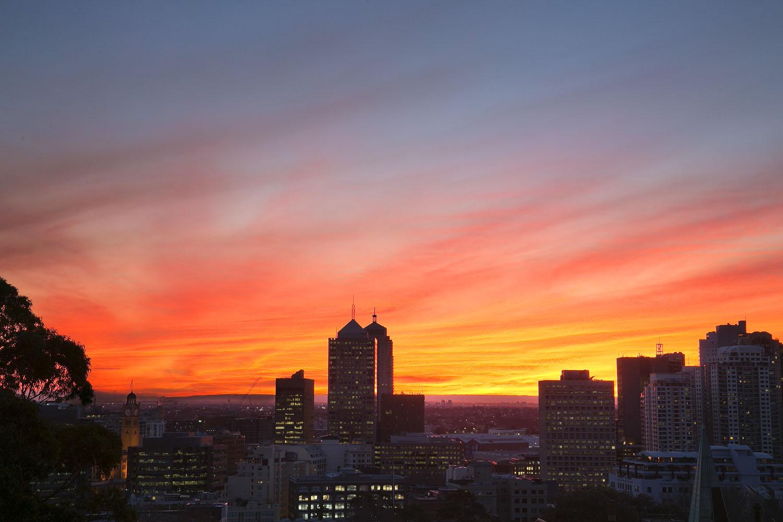 Sunset on Bourke