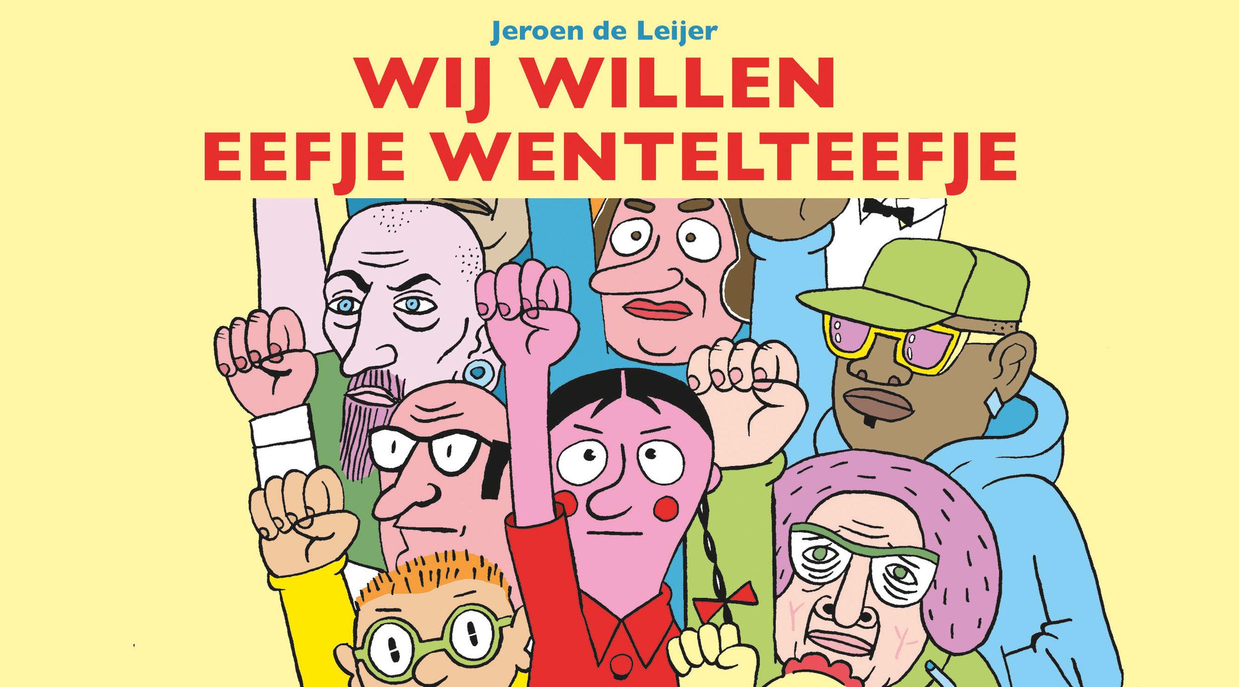 stripalbum WIJ WILLEN EEFJE WENTELTEEFJE