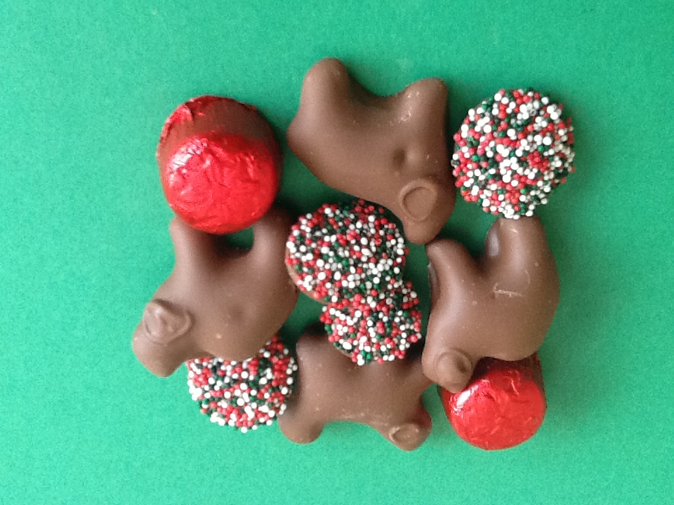 Christmas Candy & Chocolate Covered Animal Crackers