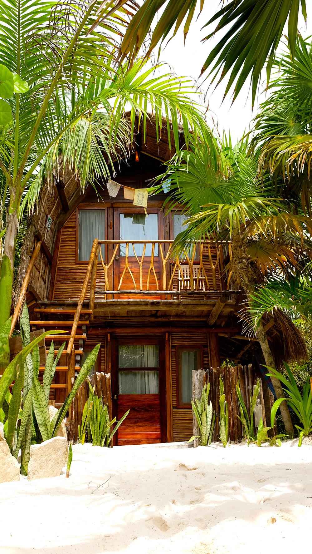 Shared Bali Hut