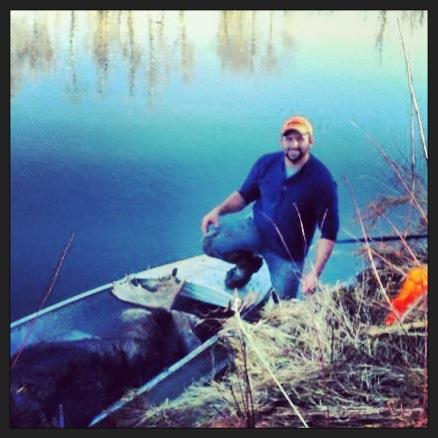 Skyler and moose
