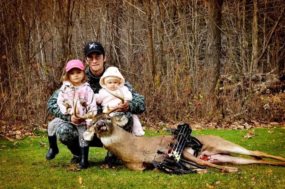 Dad Wade, Addison, and Liv