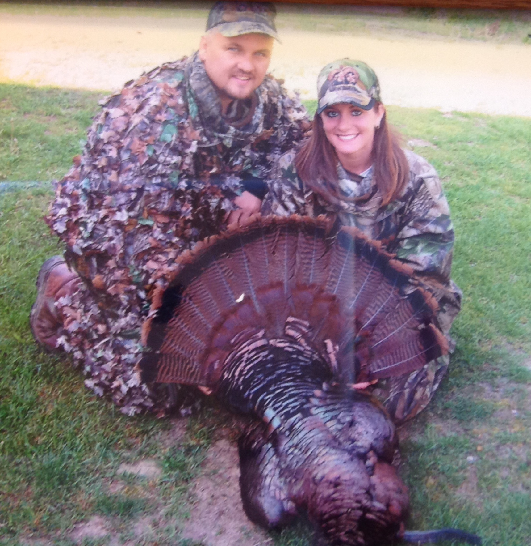 Dating and turkey hunting go hand and hand for these two