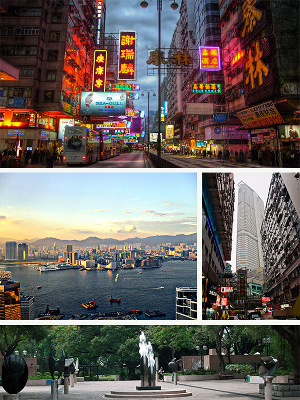 Hong Kong: a Chinese culture heavily influenced by western ideas