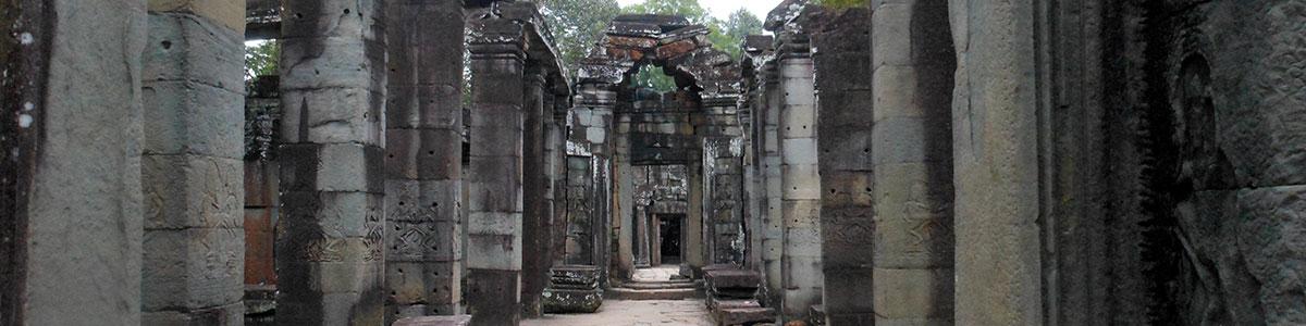 Pillars and doorways