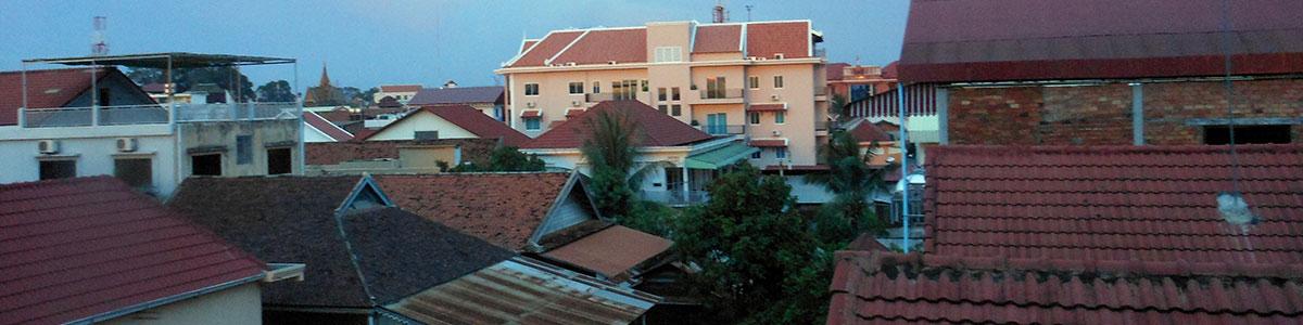 Siem Reap rooftops