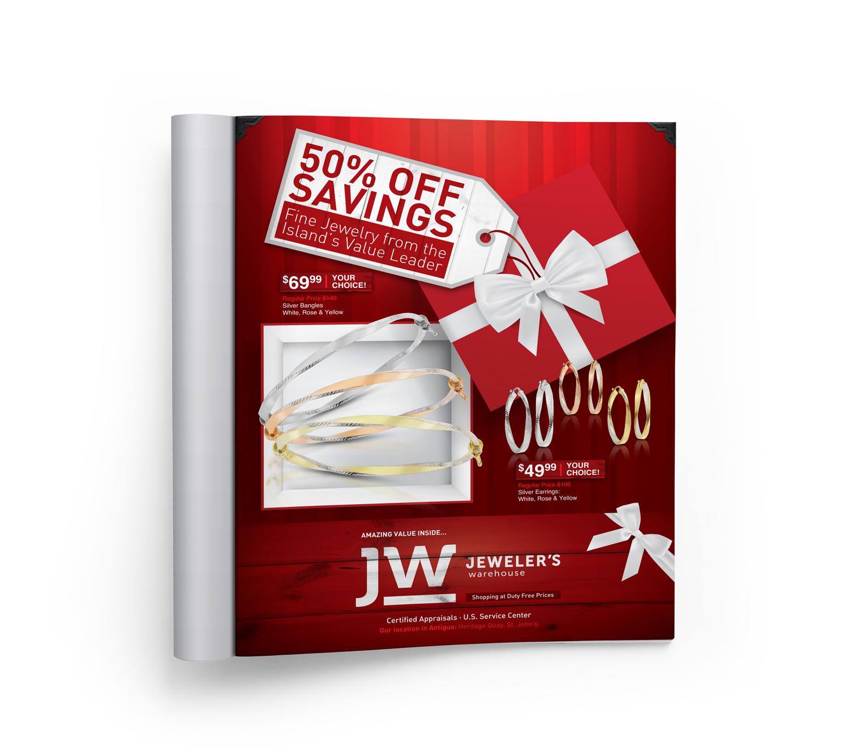 Jeweler's Warehouse Print Ad   Brand Management