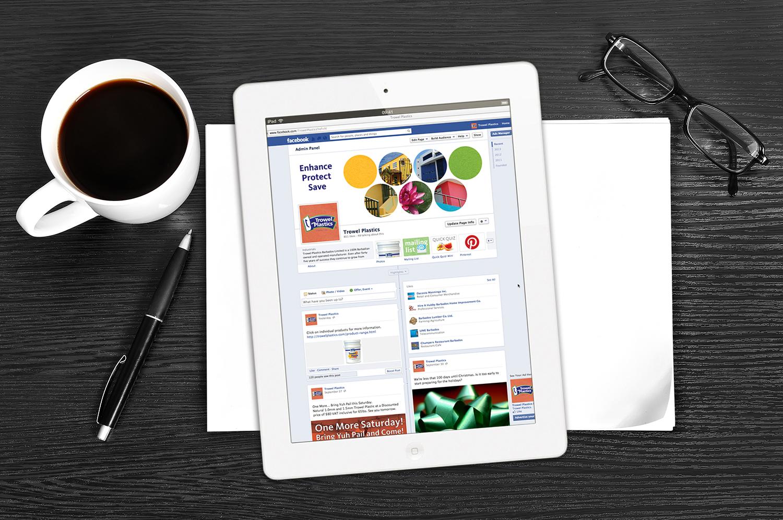 Trowel Plastics Facebook Pages   Digital - Social Media