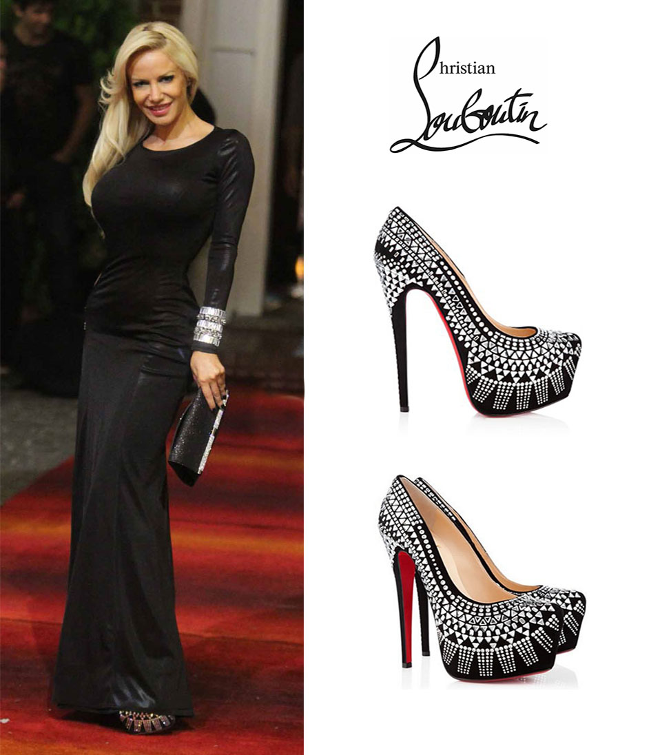 Luciana-Salazar-Bailando-2015-Zapatos-Decorapump-Daffodil-Christian-Louboutin-Black-Glass-Embellished-Fall-2012.jpg