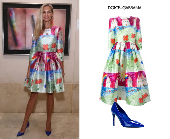 Lily-Sciorra-Make-a-Wish-2015-Palacio-Duhau-Hyatt-Vestido-Children-Drawing-Dolce-Gabbana-Spring-2015-Blue-Kate-Pumps.jpg