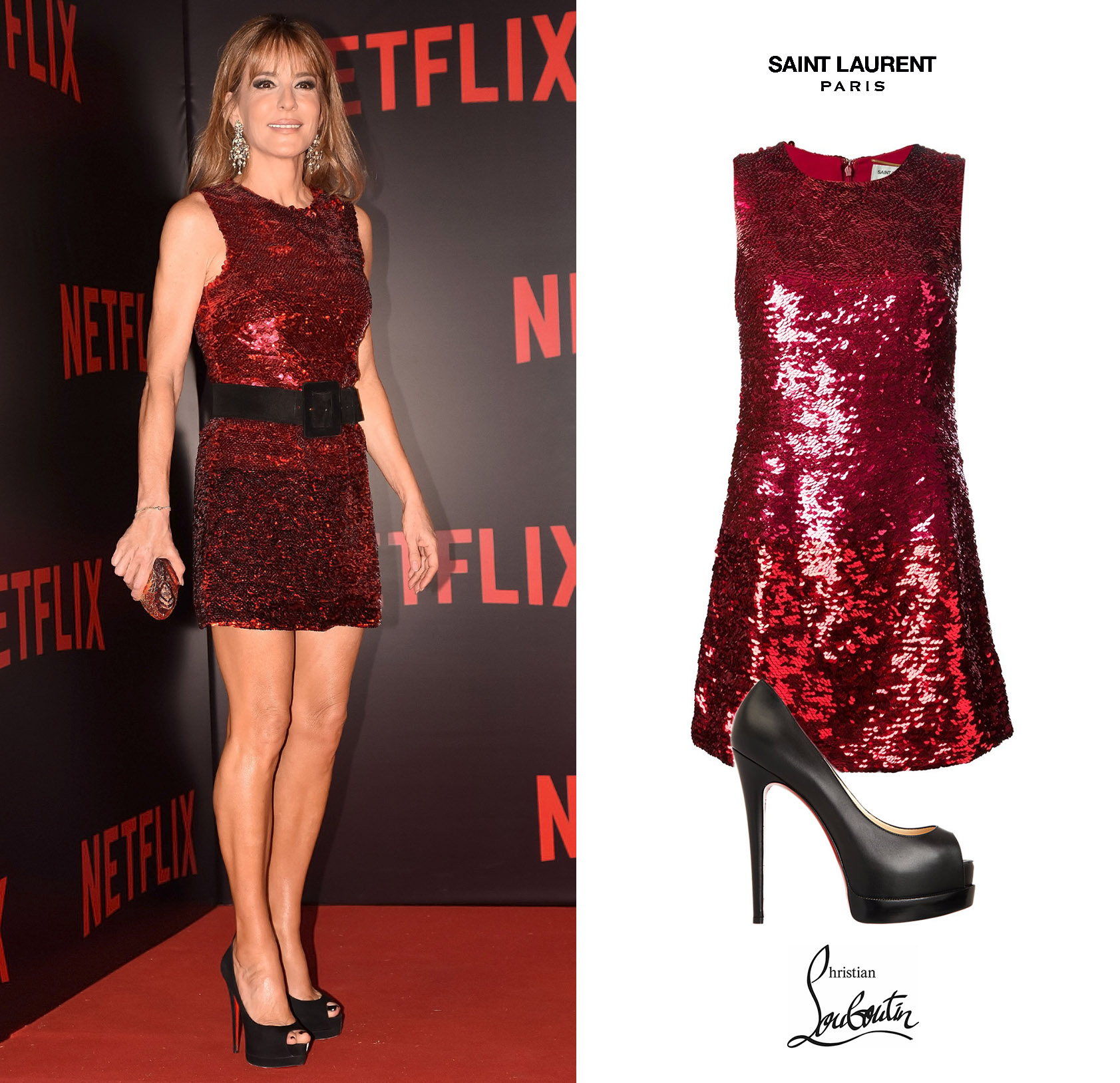 Patricia-Della-Giovampaola-DArenberg-Netflix-Gala-Buenos-Aires-Saint-Laurent-Sequined-Paillettes-Dress-Vestido-Rojo-Christian-Louboutin-Palais-Royal-Platfrom-Peep-Toes.jpg