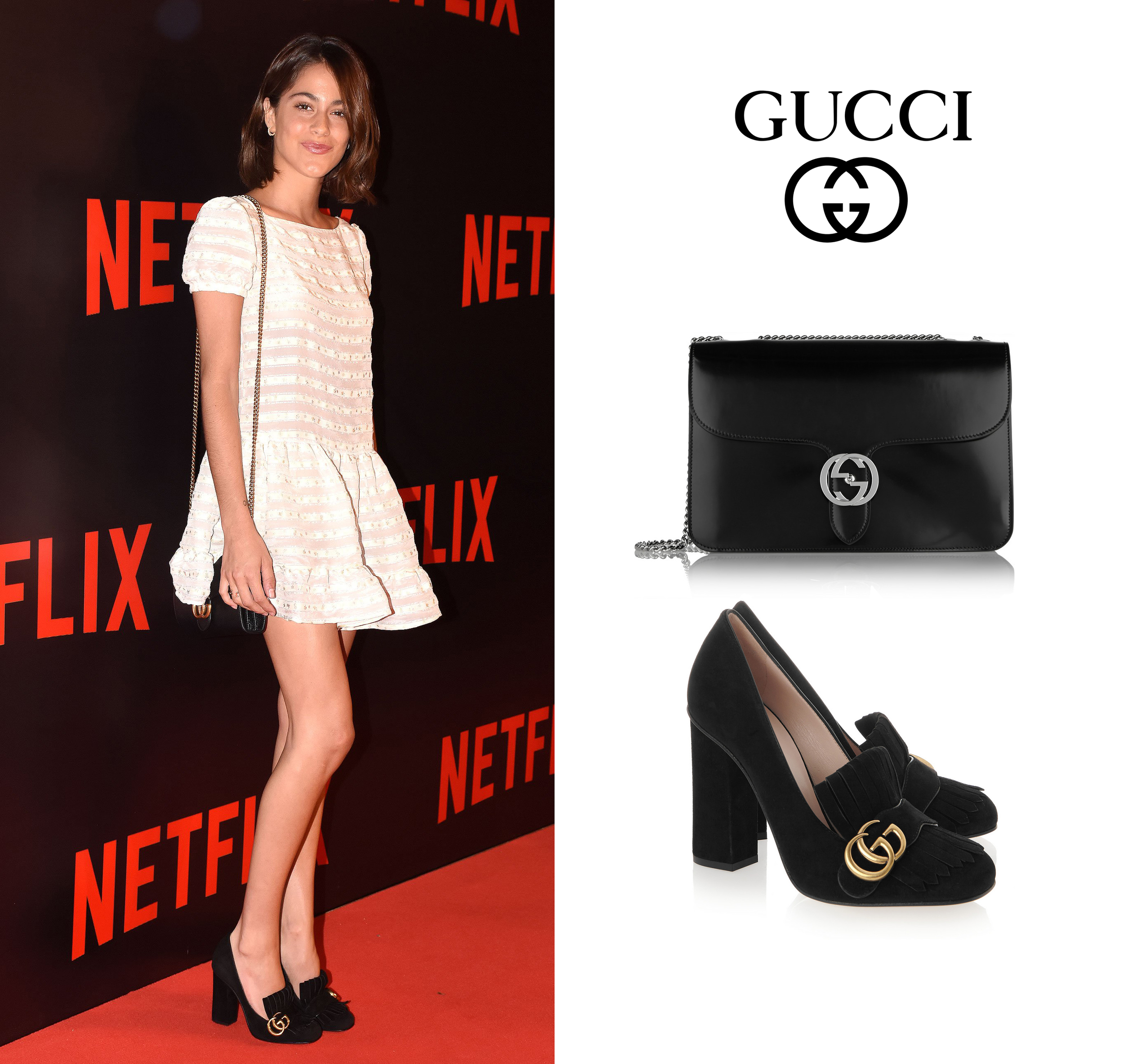 Martina-Stoessel-Netflix-Buenos-Aires-Four-Seasons-Red-Valentino-Dress-Gucci-Heels-Shoulder-Bag.jpg