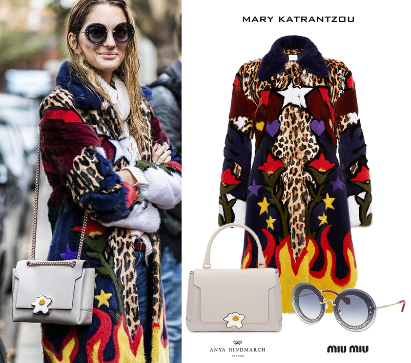 Sofia-Sanchez_Barrenechea_Chufy_London_2016_2017_Mary_Katratntzou_Fur_Coat_Anya_Hindmarch_Egg_Bag_Miu_Miu_Glitter_Sunglasses.jpg