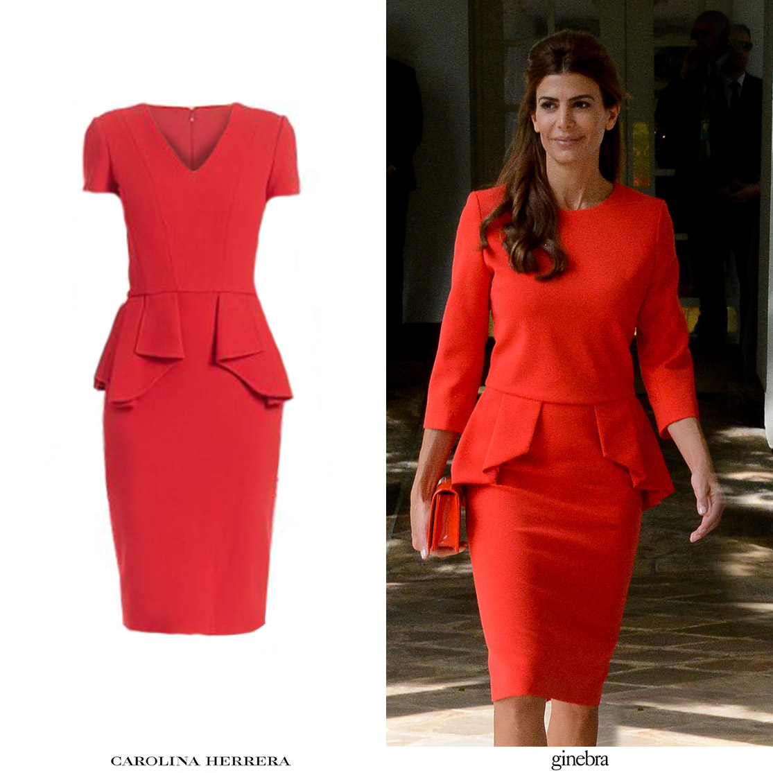 Copias_Argentinas_Inspiraciones_Carolina_Herrera_Red_Peplum_Dress_Ginebra_Vestido_Rojo_Prive_Juliana_Awada_Estados_Unidos_Trump.jpg