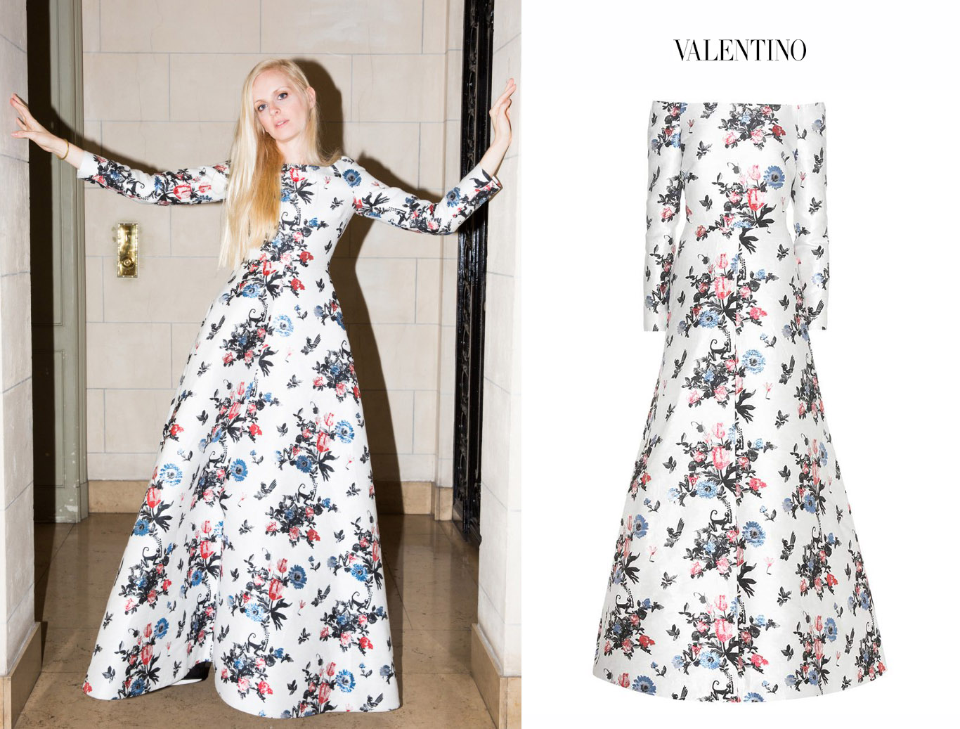 Sofia_Achaval_Coveteur_Revista_Magazine_2018_Vestido_Blanco_Flores_Mangas_Long_Sleeve_Floral_Enchanted_Valentino_Dress_Resort_2017.jpg