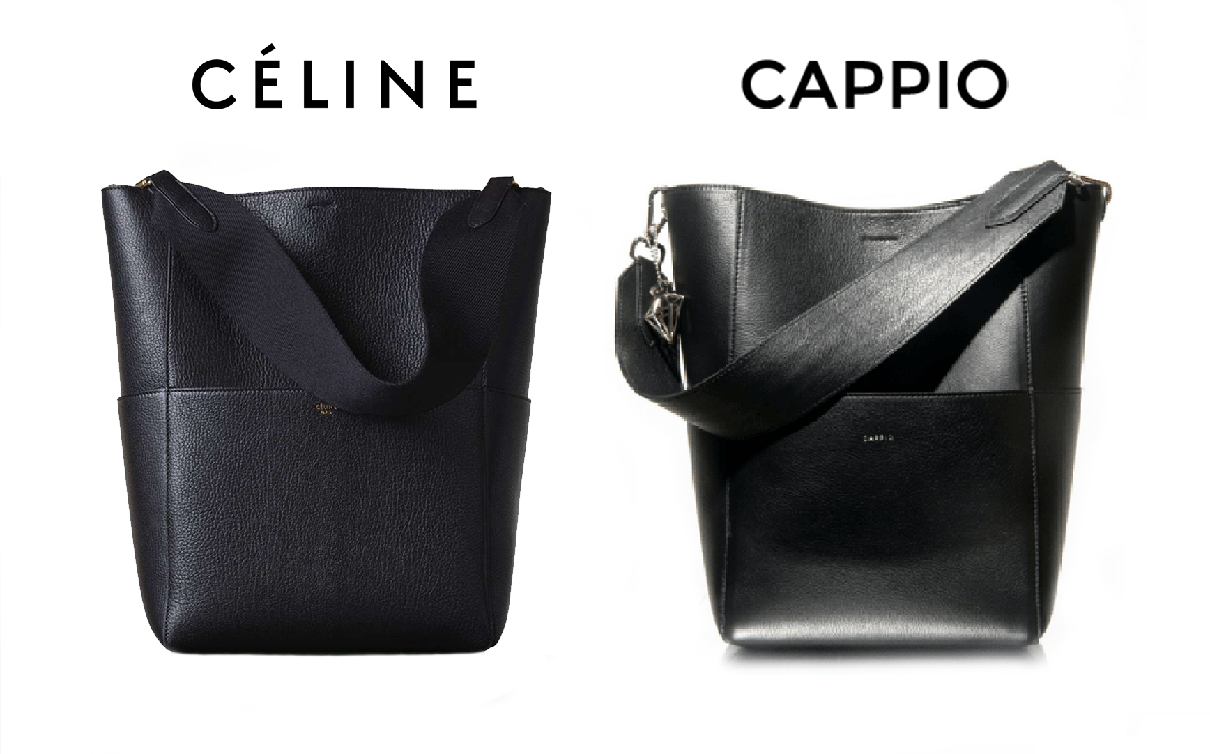 Copias_Argentinas_Inspiraciones_Marcas_que_Copian_Celine_Black_Sangle_Bag_Cappio_Cartera_Kelly.jpg