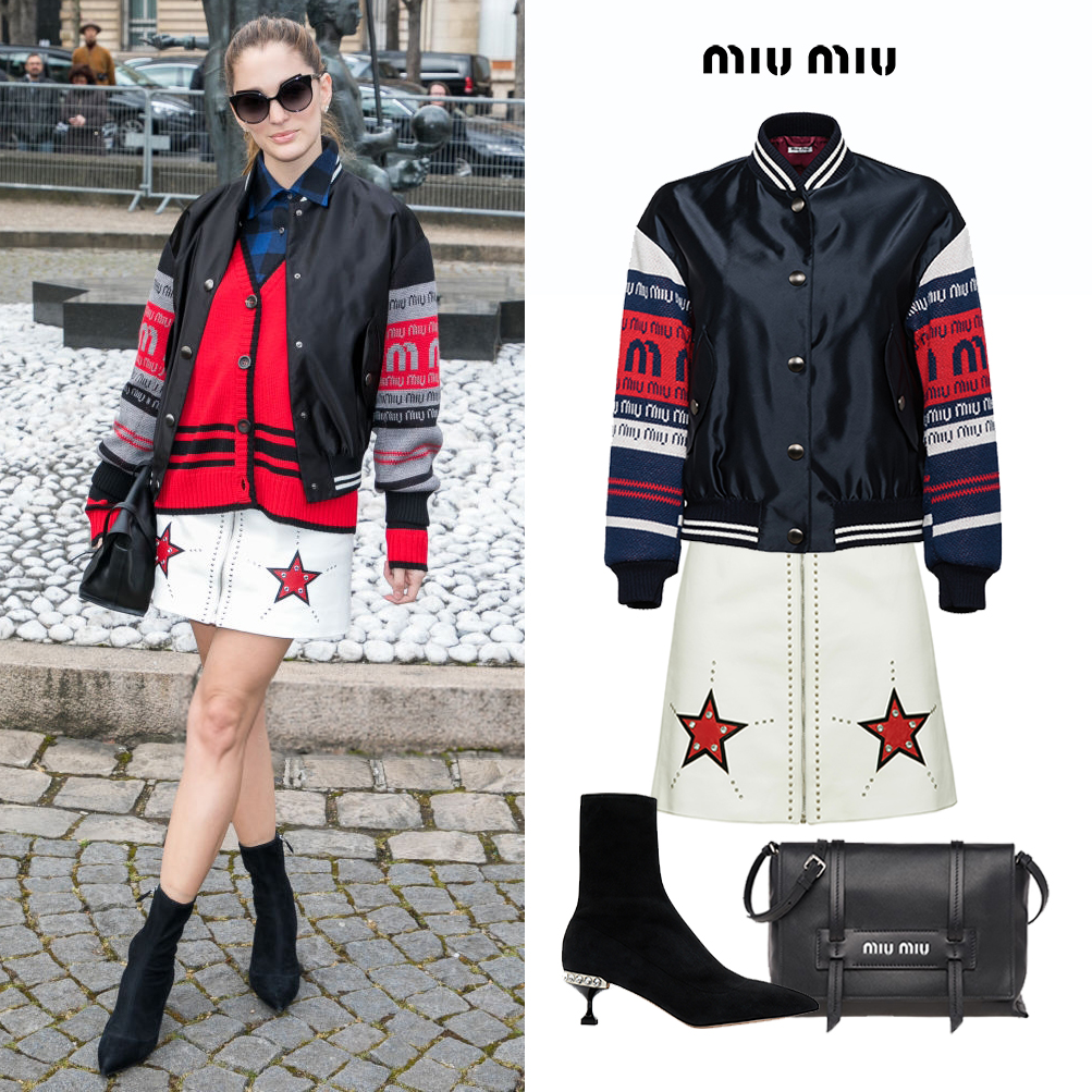 Sofia_Sanchez_Barrenechea_de_Betak_Chufy_Miu_Miu_Fall_2019_Show_Jewel_Boots_bomber_satin_jacket_nappa_star_skirt_grace_bag_paris_2018.jpg