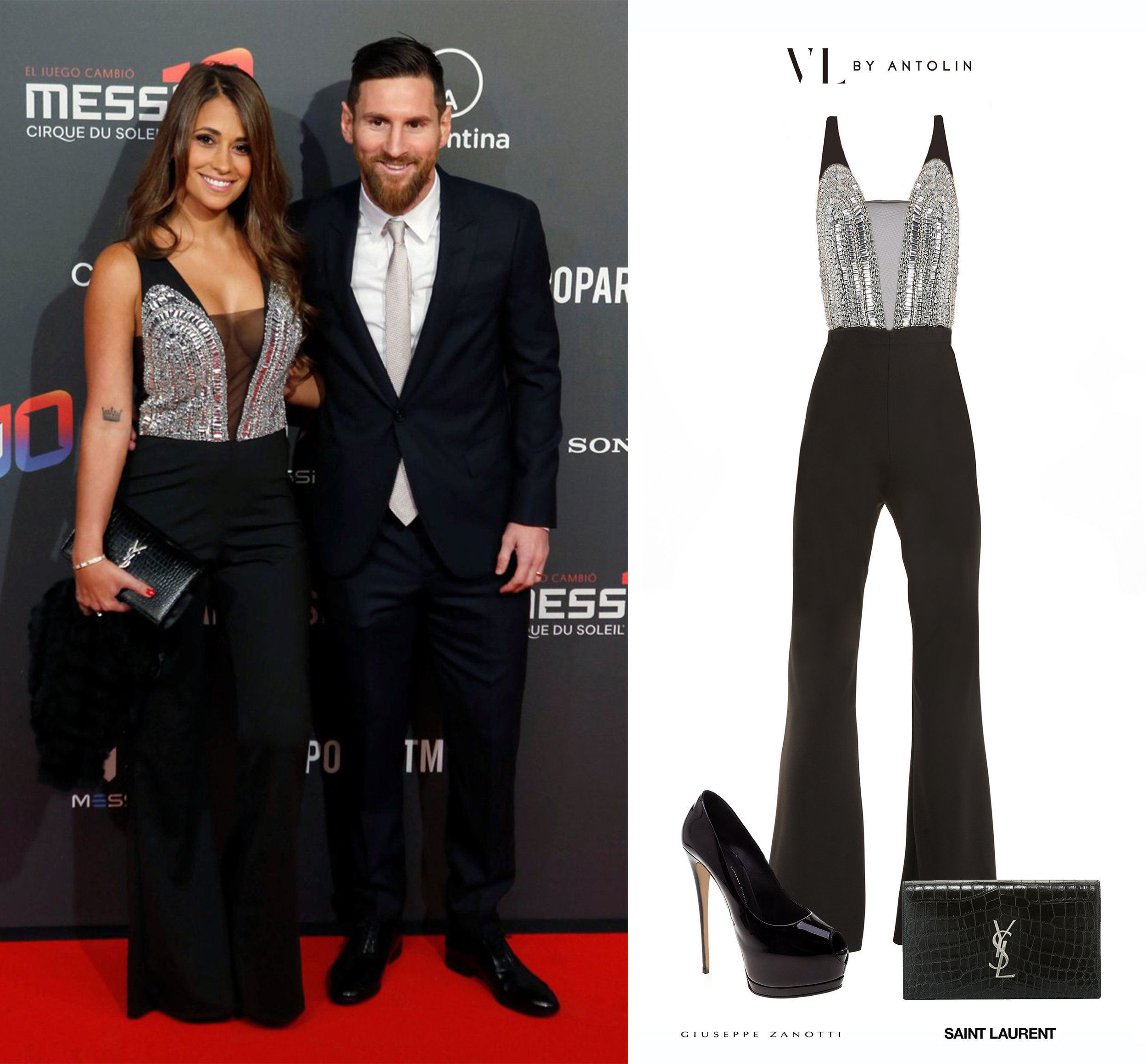Antonella_Roccuzzo_Cirque_du_soleil_Messi_Mono_VL_by_Antolin_Cristales_Crystals_Verbena_Jumpsuit_Giuseppe_Zanotti_Platform_Peep_Toe_Patent_Leather_Saint_Laurent_YSL_Shoes_Zapatos_Crocodile_Croco_Clutch_Cartera_Lionel_Leonel_Messi.jpg