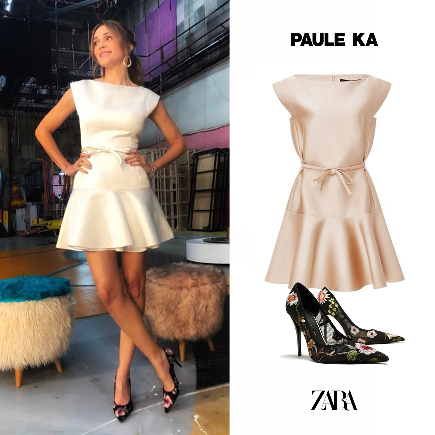 Vero_Veronica_Lozano_Corta_por_Vestido_Flared)Duchess_Paule_Ka_White_Blanco_Zapatos_FLores_Bordadas_Embroidered_Floral_Pumps_Zara.jpg