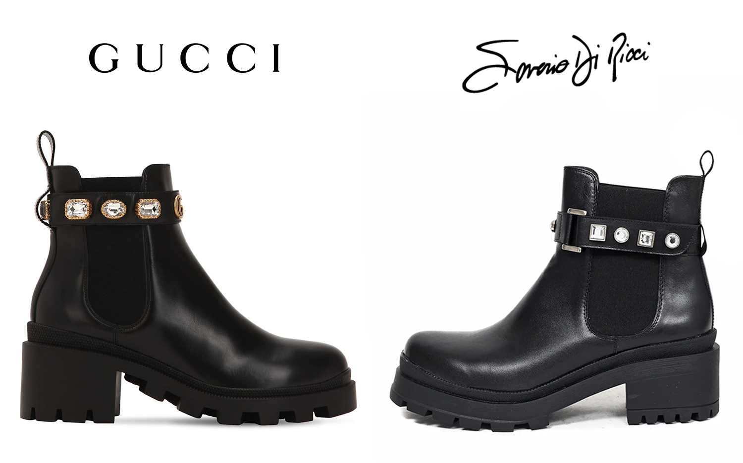 Copias_Argentinas_Inspiraciones_Marcas_que_Copian_Gucci_Leather_Ankle_Boots_Belt_Embellished_Jeweled_Saverio_di_Ricci_Botas_Julia.jpg